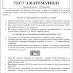 Пробне ЗНО 2016 з математики. Умови і розв'язання всіх завдань тесту